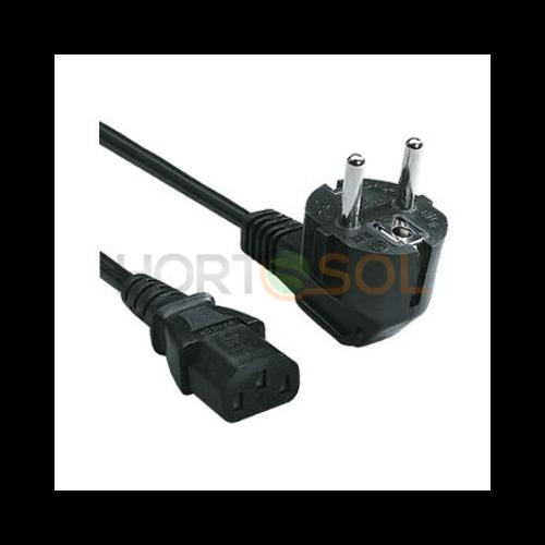 Netzkabel IEC Adapter mit Schuko Stecker 1,5m