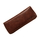 Genuine leather tobacco pouch cognac brilliant