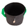 10L Fabric pot black/green ? Ø22x27cm