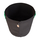 50L Fabric pot black/green - Ø38x45cm