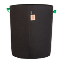 75L Fabric pot black/green - Ø44x50cm