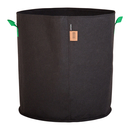 100L Fabric pot black/green - Ø50x52cm