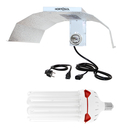 Kit 200w 2700k flowering CFL + Reflector