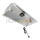 Doble reflector para 2 bombillas fluorescentes con extractor