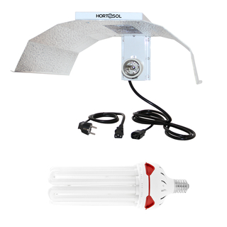 Kit 150w 2700k flowering CFL + Reflector